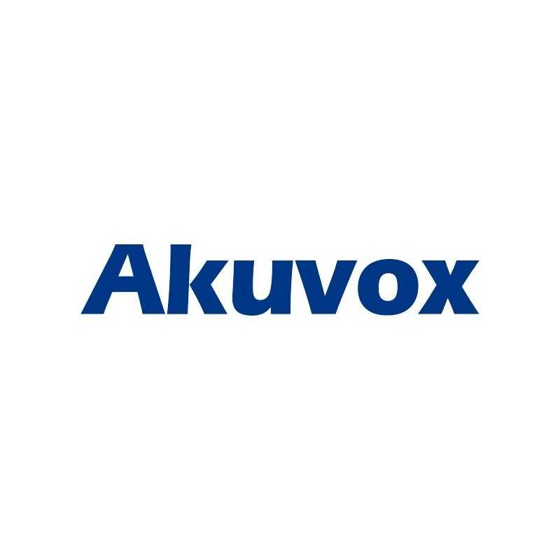 Akuvox - R29 SIP Door Phone con camera - Alimentatore non incluso