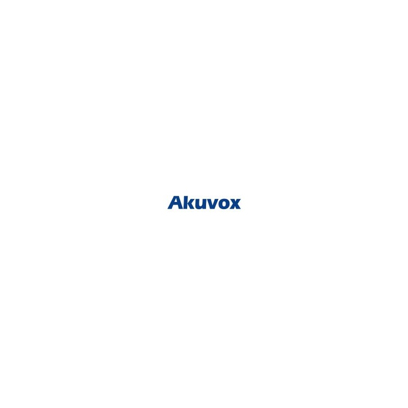 Akuvox - R29F SIP Door Phone con camera e Facial Recognition- Alimentatore non incluso