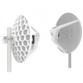 MikroTik Pair of preconfigured wAPG-60ad devices for 60Ghz link (Phase array 60 degree 60GHz antennas, 802.11ad wireless, four c