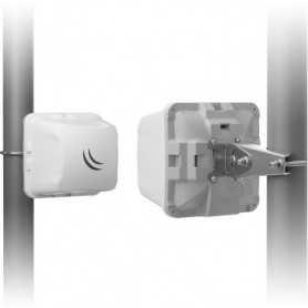 MikroTik LHG HP5 Dual Chain 5Ghz 802.11an 24.5dBi Integrated antenna, 600MHz COU, 64MB RAM, 1x LAN, POE, PSU, RouterOS L3, Inte