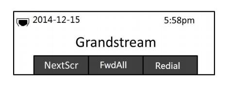 Display LCD del Grandstream GXP1625